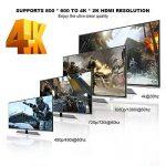 commutateur HDMI, Kiirie 3en 1sortie HDMI Switcher (4K x 2K) V1.4avec télécommande sans fil, récepteur infrarouge, prise en charge Full HD 1080p 3d pour DVD, téléviseurs HD, projecteurs, Xbox, PS4, Wii U ect de la marque Kiirie image 3 produit