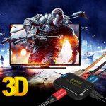 commutateur HDMI, Kiirie 3en 1sortie HDMI Switcher (4K x 2K) V1.4avec télécommande sans fil, récepteur infrarouge, prise en charge Full HD 1080p 3d pour DVD, téléviseurs HD, projecteurs, Xbox, PS4, Wii U ect de la marque Kiirie image 4 produit