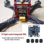 Contrôleur de vol, F4 Contrôleur de vol Carte OSD Intégrée Accessoire de RC Drone avec Baromètre de la marque Dilwe image 1 produit