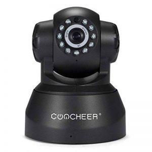 Coocheer P2P Caméra de Surveillance Sans fil HD 720p PAN Tilt Camera IP Interieur Wifi avec Audio Bidirectionnel Fente pour carte SD - Couleur Noir de la marque COOCHEER image 0 produit