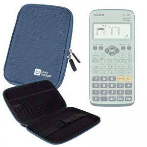 Coque bleue rigide pour Casio Fx 92, Graph 35+ E, Graph 25+ E, Graph 95 SD calculatrices scientifiques - résistant à l'eau - DURAGADGET de la marque Duragadget image 0 produit