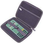 Coque de rangement noire rigide pour Texas Instruments TI-83 Premium, TI 82 Advanced et TI-NSPIRE CX calculatrices scientifiques - résistant à l'eau - DURAGADGET - Calculatrice non fournie de la marque Duragadget image 2 produit