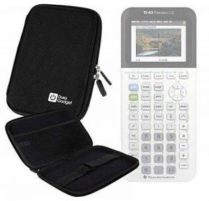 Coque de rangement noire rigide pour Texas Instruments TI-83 Premium, TI 82 Advanced et TI-NSPIRE CX calculatrices scientifiques - résistant à l'eau - DURAGADGET - Calculatrice non fournie de la marque Duragadget image 0 produit