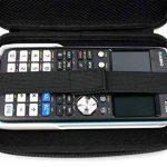 Coque de rangement noire rigide pour Texas Instruments TI-83 Premium, TI 82 Advanced et TI-NSPIRE CX calculatrices scientifiques - résistant à l'eau - DURAGADGET - Calculatrice non fournie de la marque Duragadget image 4 produit