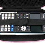 Coque de rangement rose rigide pour Texas Instruments TI-83 Premium, TI 82 Advanced et TI-NSPIRE CX calculatrices scientifiques - résistant à l'eau - DURAGADGET - Calculatrice non fournie de la marque Duragadget image 4 produit