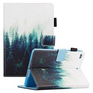 Coque iPad Mini de 4e génération, iPad Mini 4Retina étui, Dteck [trois Couche] convertible robuste [Heavy Duty] Hybrid Coque de protection Full Body avec béquille pour iPad Mini 4Modèle A1538/imprimantes et scanners #03 Forest de la marque Dteck image 0 produit