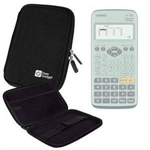 Coque noire rigide pour Casio Fx 92, Graph 35+ E, Graph 25+ E, Graph 95 SD calculatrices scientifiques - résistant à l'eau - DURAGADGET de la marque Duragadget image 0 produit