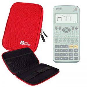 Coque rouge rigide pour Casio Fx 92, Graph 35+ E, Graph 25+ E, Graph 95 SD calculatrices scientifiques - résistant à l'eau - DURAGADGET de la marque Duragadget image 0 produit