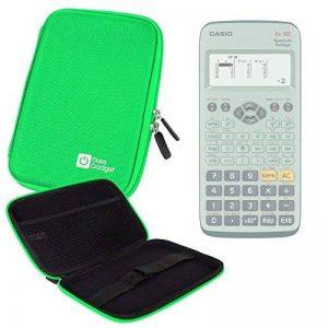 Coque verte rigide pour Casio Fx 92, Graph 35+ E, Graph 25+ E, Graph 95 SD calculatrices scientifiques - résistant à l'eau - DURAGADGET de la marque Duragadget image 0 produit