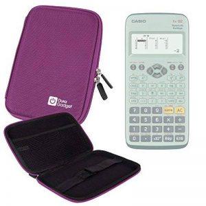 Coque violette rigide pour Casio Fx 92, Graph 35+ E, Graph 25+ E, Graph 95 SD calculatrices scientifiques - résistant à l'eau - DURAGADGET de la marque Duragadget image 0 produit