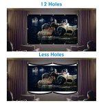 Écran de Projection LATIT, Écran de Projection Portable, Écran de Cinéma HD, Écran Pliable extérieur, Pas de pli, Diagonale sans pli (100 inch) de la marque LATIT image 4 produit