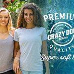 Crazy Dog Tshirts Womens Iron Man Science T shirt Cool Shirts Novelty Ladies Funny T shirt Graphic Design - Femme de la marque Crazy Dog Tshirts image 2 produit