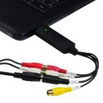 CSL - Enregistreur/Boîtier d'acquisition audio + vidéo | Nouvelle version/Nouveau logiciel (compatible Windows 10) | VHS - adaptateur vidéo pour traitement et retouche d'images de la marque CSL-Computer image 1 produit