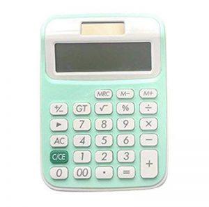 Cute Calculator Calculatrice solaire simple et élégante, verte de la marque Black Temptation image 0 produit