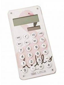 Cute Calculator Calculatrice solaire simple élégante, oiseau de la marque Black Temptation image 0 produit