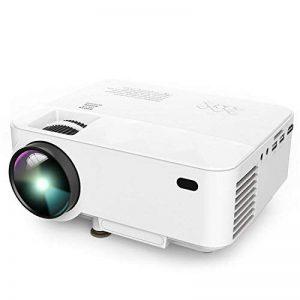 DBPOWER Projecteur LED Amélioré, Projecteur Multimédia Compatible 1080P, HDMI, USB, carte SD, VGA, AV pour Home Cinema, TV, Ordinateurs Portables, Jeux, Smartphones et iPad de la marque DBPOWER image 0 produit
