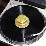 De qualité premium Aluminium enregistrer Poids. disque vinyle Stabilisateur doré de la marque TORRO image 3 produit