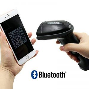 des Teemi Tmsl-55 QR Bluetooth Barcode Scanner USB sans fil automatique 2d Pdf417 Data Matrix Image lecteur pour Apple iOS, Android, Windows 10, Mac OS appareil de la marque TEEMI image 0 produit
