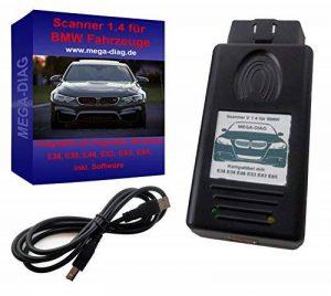 Diagnostic OBD Scanner 1.4pasoft pour BMW E46E39E38E83E53E85 de la marque MEGA-DIAG image 0 produit
