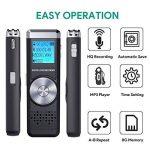 dictaphone avec batterie rechargeable TOP 12 image 1 produit