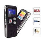 dictaphone avec batterie rechargeable TOP 4 image 3 produit