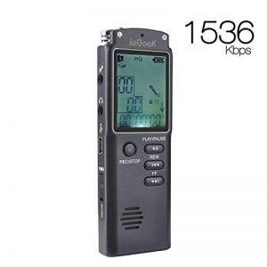 dictaphone avec batterie rechargeable TOP 9 image 0 produit