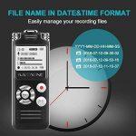 dictaphone avec reconnaissance vocale TOP 2 image 3 produit
