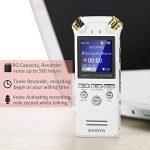 dictaphone batterie rechargeable TOP 2 image 2 produit