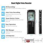 dictaphone batterie rechargeable TOP 9 image 1 produit