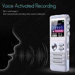 Dictaphone Enregistreur Numérique - SK-818 Mini dictaphone professionnel Stéréo Voix Neutre Contrôle vocal MP3 Haute qualité de la marque Beatie image 1 produit