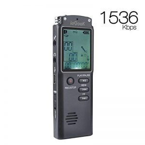 dictaphone numérique carte sd TOP 8 image 0 produit