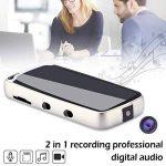 Dictaphone Numérique Enregistreur Professionnel Audio Numérique Fonctions 2 en 1 Stylo Enregistreur Vocal Mini Lecteur Format de MP3 avec Bonne Qualité Enregistreur Vidéo de la marque Purebesi image 4 produit