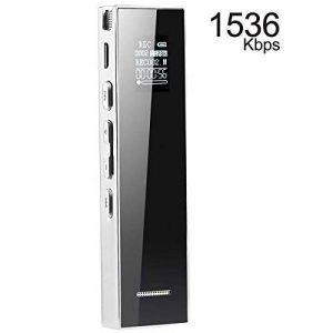 Dictaphone numérique, KAYOWINE 15 m enregistrement Distance 1536 Kbps 8 Go avec carte TF Expansion Prise Interface Enregistreur reconnaissance vocale Haut-parleur de la marque KAYOWINE image 0 produit
