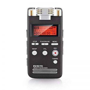 dictaphone numérique mémoire flash TOP 4 image 0 produit