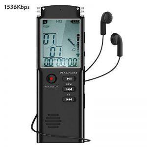 dictaphone numérique mémoire flash TOP 5 image 0 produit