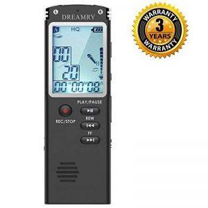 dictaphone numérique mémoire flash TOP 7 image 0 produit