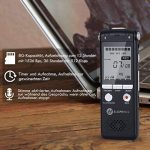 dictaphone numérique mémoire flash TOP 9 image 4 produit