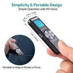 dictaphone numérique rechargeable usb TOP 12 image 3 produit