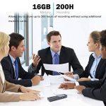 dictaphone numérique rechargeable usb TOP 9 image 3 produit