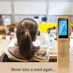 Dictaphone Numérique TROEX 8 Go - Mini USB Enregistreur Audio Vocal à Micro Stéréo HD pour Enregistrer Son, Music, Voix, Guitare et autres - Batterie Rechargeable Longue Durée - Compatible PC ou Mac, Lecteur MP3 de la marque TROEX image 2 produit
