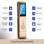 Dictaphone Numérique TROEX 8 Go - Mini USB Enregistreur Audio Vocal à Micro Stéréo HD pour Enregistrer Son, Music, Voix, Guitare et autres - Batterie Rechargeable Longue Durée - Compatible PC ou Mac, Lecteur MP3 de la marque TROEX image 4 produit