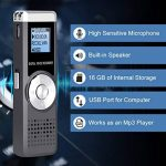 dictaphone rechargeable usb TOP 11 image 4 produit