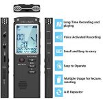 dictaphone rechargeable usb TOP 5 image 3 produit