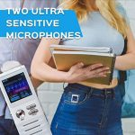 Dictopro X100 Dictaphone Numérique Enregistreur de Voix Stéréo Numérique, Activation Vocale, Portable, Rechargeable, pour la Lecteur, Cours, Conférence Entretien, MP3, Connexion PC, Mémoire 8GB de la marque DICTOPRO image 3 produit