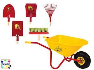 Die Biene Maja Velleman Grand Kit Outils de jardin avec brouette–Maya L'Abeille de de la marque Die Biene Maja image 0 produit