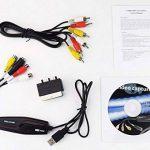 DIGITNOW! Vidéo Capture Transfère le Format Hi8 VHS vers un DVD Numérique pour Windows 10 / Mac, le Graveur Vidéo avec un Adaptateur Scart / AV de la marque DIGITNOW! image 3 produit
