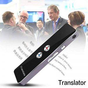 Dispositif portatif de traducteur de traduction, appareil portatif de traducteur de traduction de Multi-Langues en temps réel de poche (bidirectionnelle) de Handheld Pocket pour la réunion d'affaires de voyage d'affaires de la marque KY image 0 produit