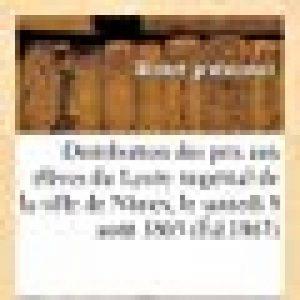 Distribution des prix aux élèves du Lycée impérial de la ville de Nîmes, le samedi 8 août 1863 de la marque image 0 produit