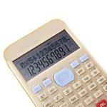 Dixinla Calculatrice Fonction de Deux Lignes 10-bit Solaire Science étudiant Calculatrice de la marque Dixinla image 1 produit