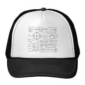 DIYthinker Formule Courbe Graphiques Sciences Mathématiques Calculs Casquettes de Baseball en Maille de Nylon Chapeau réglable de la marque DIYthinker image 0 produit